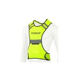 vesta reflex FORCE SPORT do pasu na suchý zip,fluo